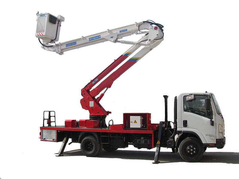 بالابرهای خودرویی/کامیونی (Truck Mounted Platforms)