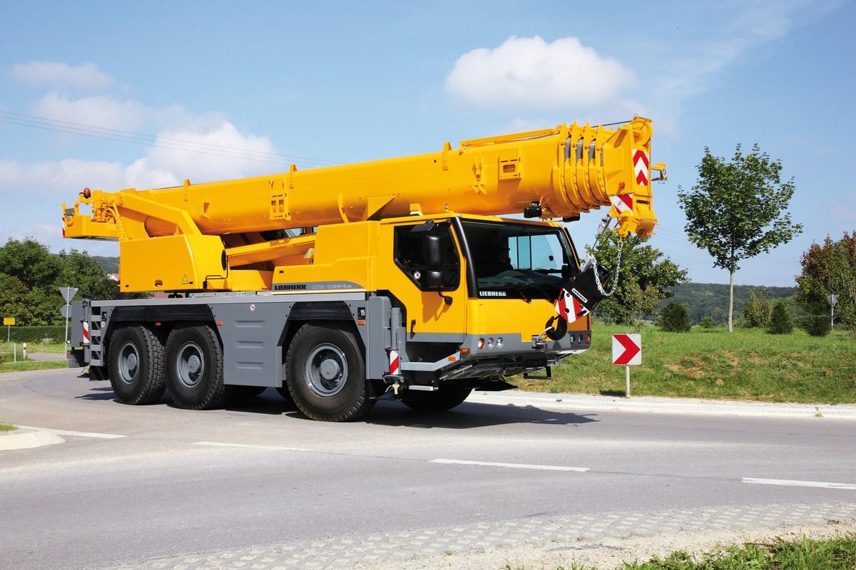 جرثقیل های هیدرولیکی متحرک (mobile crane)