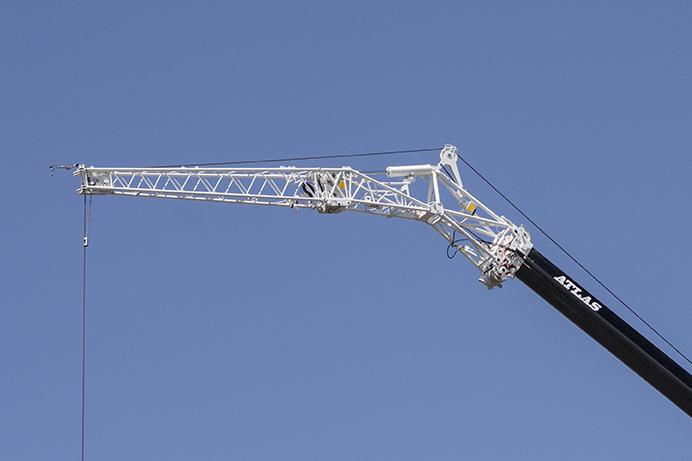 جیب جرثقیل (crane jib)