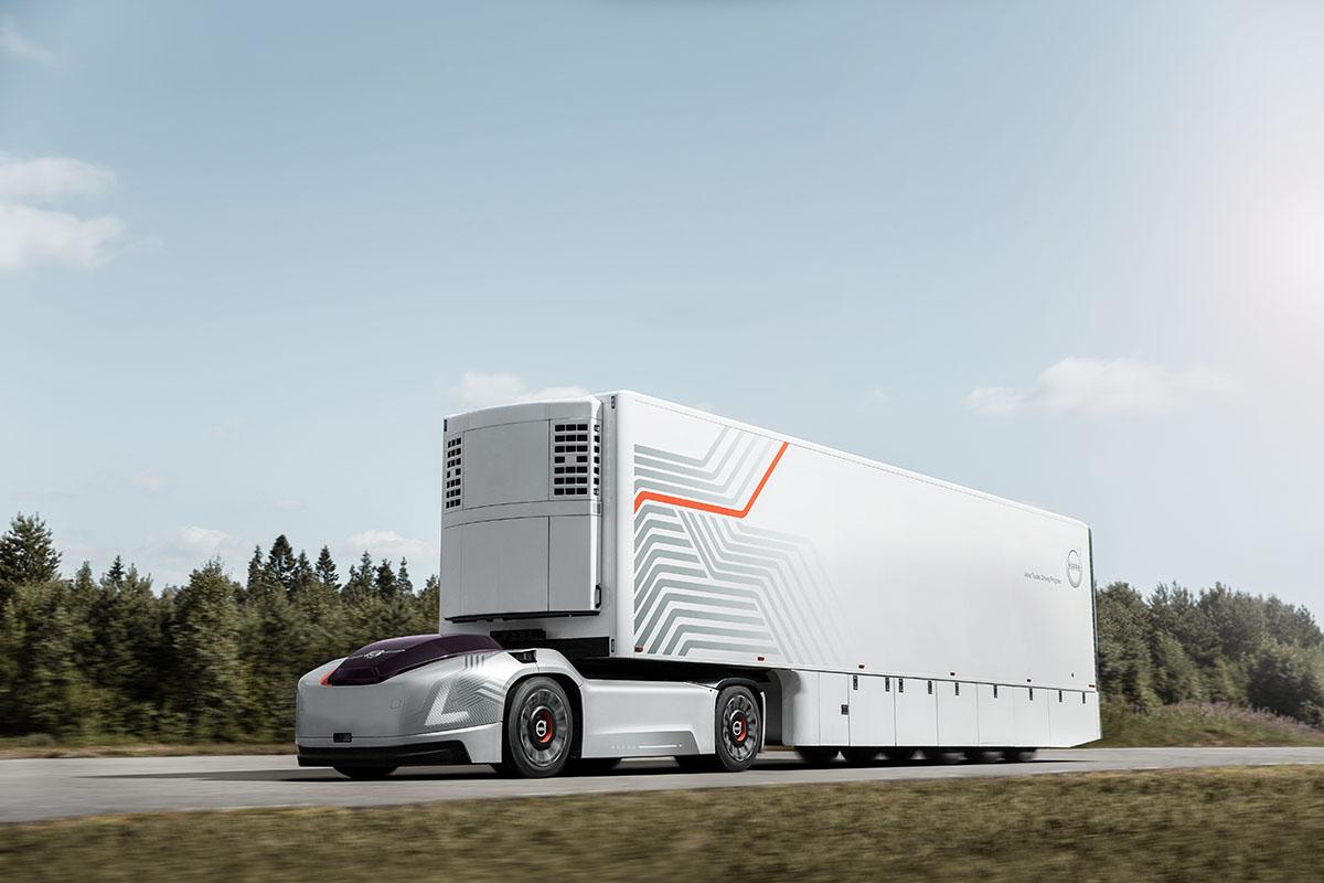 اگر کامیونها به راننده نیاز نداشته باشند، چطور بهنظر میرسند؟