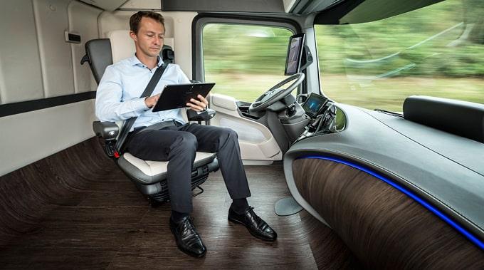 نگاهی به عملکرد کامیون مفهومی مرسدس بنز Future Truck 2025