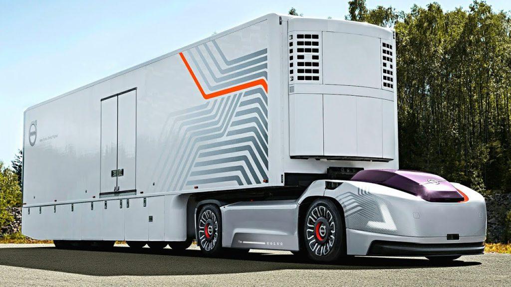 نگاهی به کامیون خودران ولوو Vera
