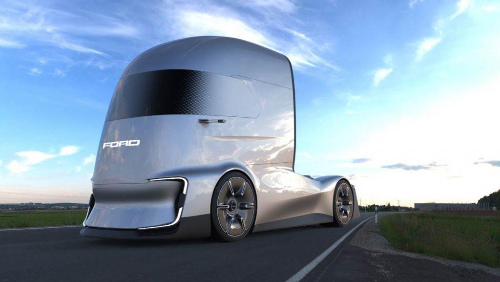 نگاهی به کامیون کشنده مفهومی فورد اف-ویژن