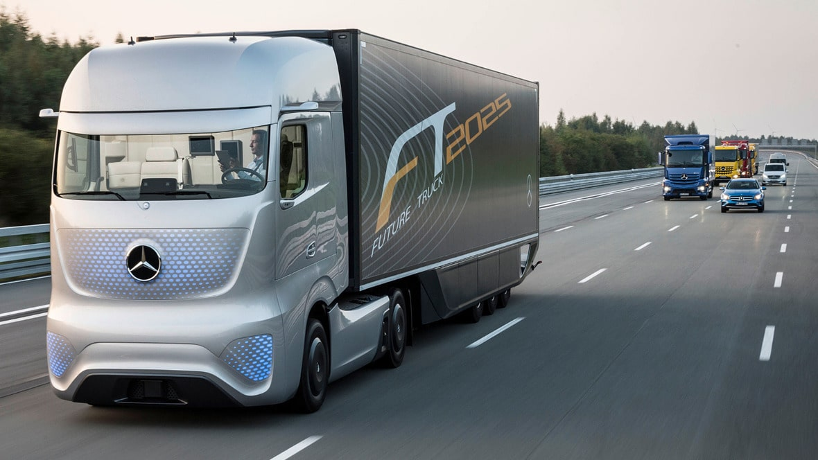 کامیون مفهومی مرسدس بنز Future Truck 2025