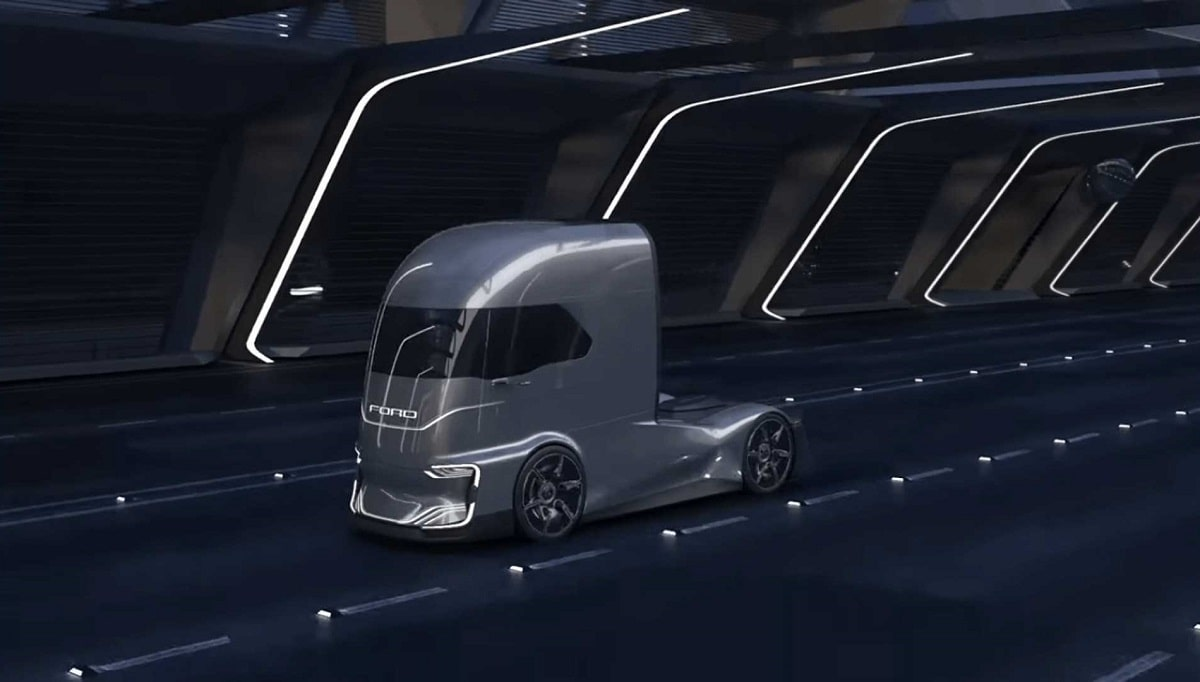 کامیون کشنده مفهومی فورد اف-ویژن